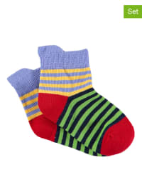 Sterntaler 2er-Set: Socken in Grün/ Lila