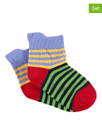 Sterntaler 2er-Set: Socken in Grün/ Rot
