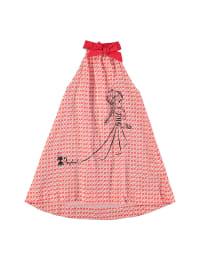 Longboard Kleid  in Rot/ Weiß
