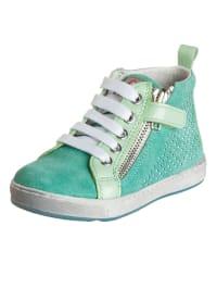 Naturino Leder-Sneakers in Grün