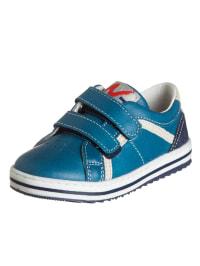 Naturino Leder-Sneakers in Petrol