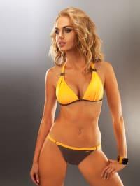 """Aquarilla Bikini """"Acapulco"""" in Orange/ Braun"""