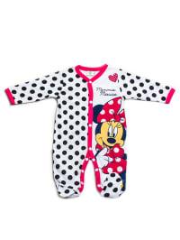 Disney Baby Strampler in Schwarz/ Weiß/ Rot