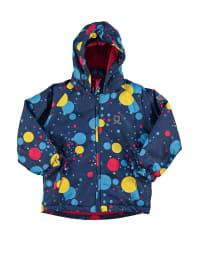 "Color Kids Ski-/ Snowboardjacke ""Taxien"" in Blau/ Bunt"