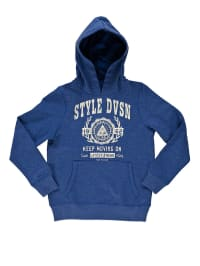 "Tom Tailor Sweatshirt ""Style Devision"" in Blau"