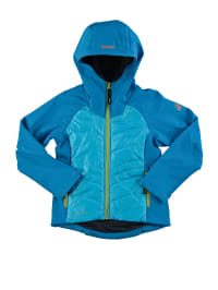 "Icepeak Softshelljacke  ""Ruby Jr"" in Türkis/ Hellblau"