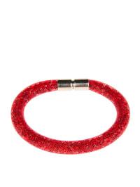 Destellos by Swarovski Elements Armband mit Swarovski-Kristallen in Rot