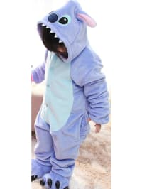 "Jumpsuits for kids Jumpsuit ""Monster"" in Lila/ Hellblau"
