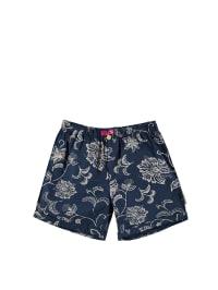 Mijn Mijn Shorts in Dunkelblau/ Grau