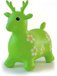 """BabyGo Hüpftier """"Green Deer"""" - ab 10 Monaten"""