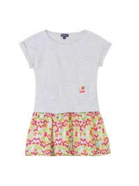Kid Cool Kleid in Grau/ Bunt