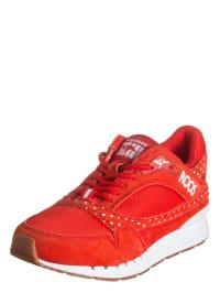 """Kangaroos Sneakers """"Rage Dots"""" in Rot/ Weiß"""