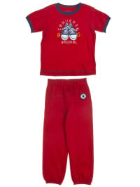 Converse 2tlg. Outfit in Rot/ Blaugrau