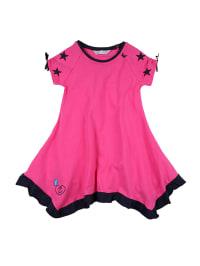 """Zunstar Kleid """"Scarlett"""" in Pink/ Dunkelblau"""