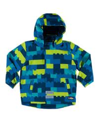 """Legowear Funktionsjacke """"Jack"""" in Blau/ Grün"""
