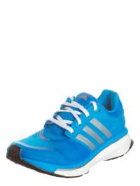 Adidas Laufschuhe in Blau/ Silber