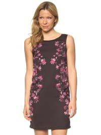 More & More Kleid in Schwarz/ Pink