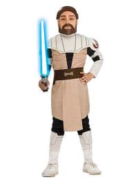 "Rubie`s Kostüm ""Obi Wan Kenobi Clone Wars"" in Beige/ Braun"