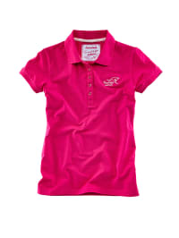 Roadsign Poloshirt in Pink