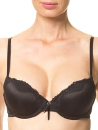 Sassa Push-up-BH in Schwarz