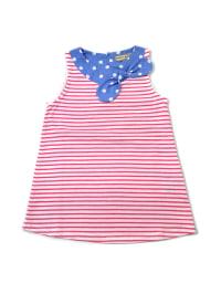 Darcy Brown Kleid in Pink/ Weiß/ Blau