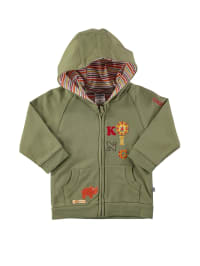 "Jacky Sweatjacke ""Big King"" in Khaki"