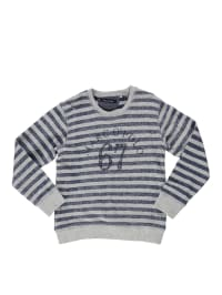 Marc O'Polo Junior Sweatshirt in Grau/ Dunkelblau