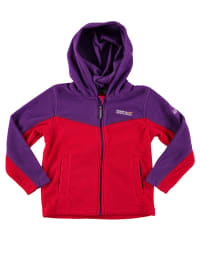 "Regatta Fleecejacke ""Marty"" in Rot/ Lila"