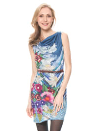 "Smash Kleid ""Dahlia"" in Blau/ Hellblau/ Bunt"