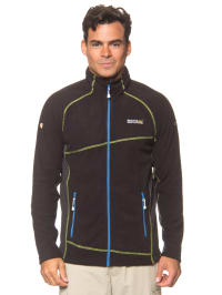 "Regatta Fleecejacke ""Emmons"" in Schwarz"