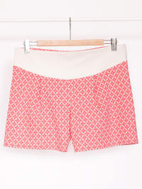 Paula Janz Shorts in Rot/ Weiß