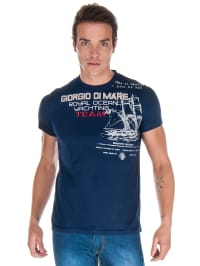 GIORGIO DI MARE Shirt in Dunkelblau