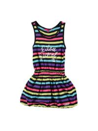 Lilou Secret Kleid in Schwarz/ Bunt