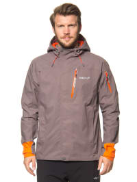 "Halti Outdoorjacke ""Terva"" in Hellbraun/ Orange"