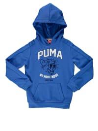Puma Kapuzenpullover in Blau