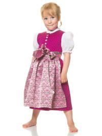"Turi Landhaus Dirndl ""Johanna"" mit Bluse in Fuchsia/ Rosa"
