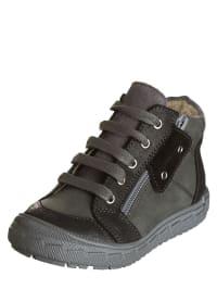 """Minibel Leder-Sneakers """"Joardanlim"""" in Grau/ Anthrazit"""