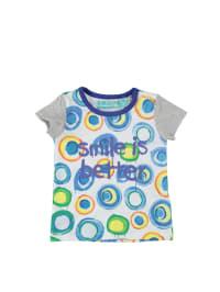 "Desigual Shirt ""Cuarzo"" in Weiß/ Bunt"