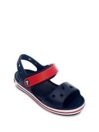 "Crocs Sandalen ""Crocband Kids"" in Dunkelblau/ Rot"