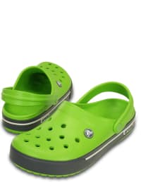 "Crocs Clogs ""Crocband II.5"" in Grün/ Anthrazit"