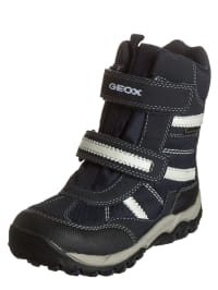 "Geox Winterboots ""Alaska G"" in Dunkelblau/ Creme"