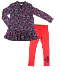 "What´s up Kids 2tlg. Outfit ""Classic College"" in Blau/ Rot"