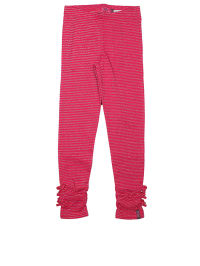 ZieZoo Leggings in Fuchsia/ Silber