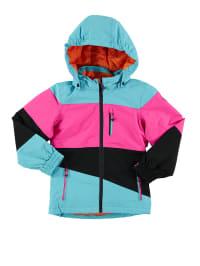 "Killtec Ski-/ Snowboardjacke ""Ellinor"" in Hellblau/ Pink/ Schwarz"