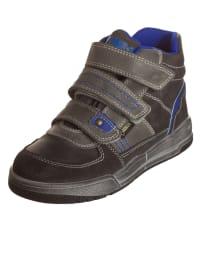 """Primigi Leder-Sneakers """"Flumber"""" in Grau/ Blau"""