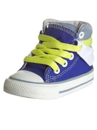 """Converse Sneakers """"CT Peel Back MID"""" in Blau/ Grau"""