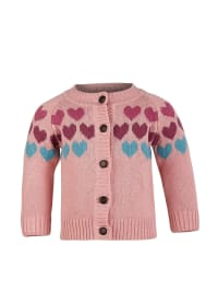 "Racoon Strickjacke ""Wallis"" in Rosa/ Hellblau"
