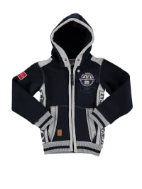 """Geographical Norway Sweatjacke """"Grazziano"""" in Grey/ Blue"""