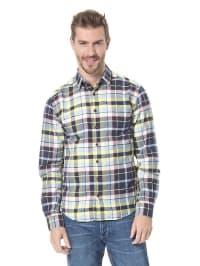 "Jack & Jones Kariertes Hemd ""Meyer"" in gelb/ dunkelblau/ rot/ weiß"