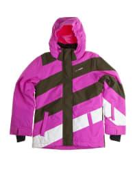 "Brunotti Skijacke ""Jethrosa"" in pink/ khaki/ weiß"